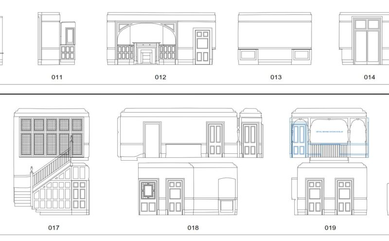Internal Elevations example drawing